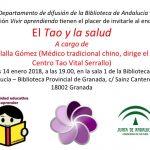 Encuentro sobre Tao y salud 14 enero